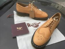 Dr Martens 3989 Tuscon tan leather shoes UK 9.5 EU 44 Made in England