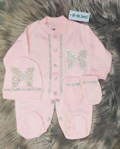 Baby Newborn  Butterfly Romper gift Set 3 piece Bow Romper Set