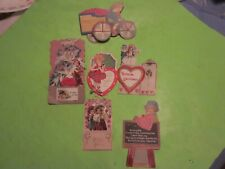6 Vintage Motion/Movable Valentines, One 1919