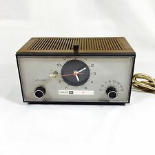 Vintage Philco-Ford Model S760WA Tabletop Alarm Clock AM Radio Clean Works
