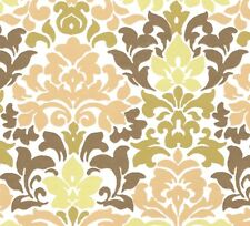 5 x A4 paisley pattern glossy card with gold metallic accents 300gsm traditional