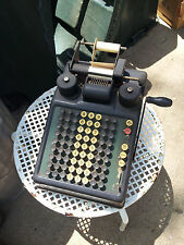Adding Machine Burroughs..Manual