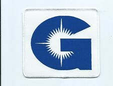 G with sun logo Oilfield industries patch jacket size 4-3/4 X 5-1/4