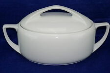 Rosenthal Donatello Soup Tureen and Lid or Covered Vegetable Oval Bowl-White-