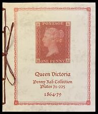 More details for queen victoria penny-red plate number album. spaces for plates 71-225