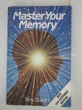 Master Your Memory,Tony Buzan