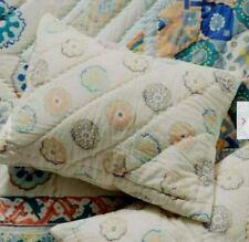 ANTHROPOLOGIE Ponsonby Pair of Standars Pillow Shams