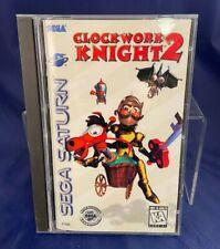 Sega Saturn Clockwork Knight 2 Game Complete w/ Manual & Case 1995