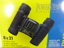 Bushnell Powerview Compact Folding Roof Prism Binocular 8X21mm