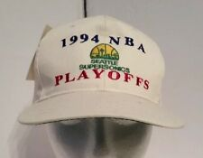 Vtg Seattle Supersonics Rare Starter Snapback Hat 1994 Playoffs Deadstock New