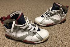 Air Jordan VII 7 Retro Olympic FTLOTG 304775-103 Size 10.5 Used Trashed Beaters