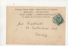 Miss Hartnell Cathedral Road Cardiff 1904 387b