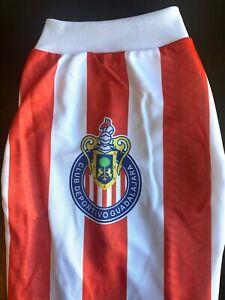 CHIVAS RAYADAS, Guadalajara Mexican SOCCER team  shirt pet dog- VARIED