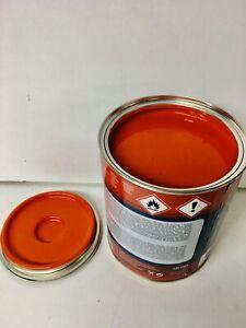 Palfinger Crane Red Orange Paint Endurance Enamel Paint 1 Litre Tin
