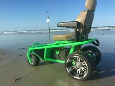 Off road Beach all terrain sand wheelchair Mobility outdoor power chair