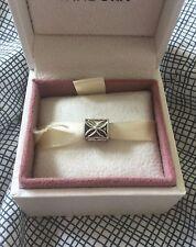 🍀CHARITY LISTING New Four Leaf Clover Flower Silver Charm European Bracelet