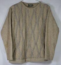 New Zealand Possum Fur Merino Ridiculously Soft Sweater Sz S FLAWS
