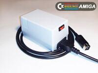Amiga PSU. Power supply for Commodore Amiga A500, A600, A1200 GRAY (US plug)