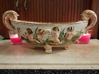 Antique Capodimonte Porcelain Centerpiece Italian Mid-Late 19th Century Marked