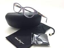 9e26a83b67 Salvatore Ferragamo Sf2722 516 Lilac Eyeglasses Glasses 53-16-140 B35 Italy