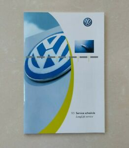 💯ORGINAL New VOLKSWAGEN VW SERVICE BOOK COVERS ALL MODELS GOLF POLO TRANSPORTER