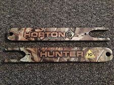 Horton Crossbow Hunter HD 175 TRT Hardwoods Camo Left and Right Limb Set, NEW