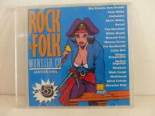CD Sampler Rock & Folk 5 BERURIER NOIR  VAN MORRISON ZEVON LITTLE BOB BLANKASS
