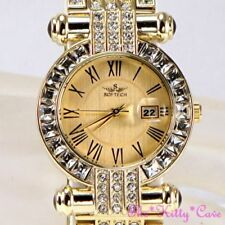 Relojes de pulsera fechas de oro amarillo de mujer