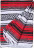 El Paso Designs - Red Mexican Yoga Blanket - 51 x 74 inches