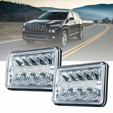 "DOT 4x6"" LED headlight Sealed Beam Hi/Lo for Chevy Blazer S10 Kodiak GMC Sonoma"