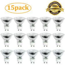 |15-Pack| GU10 50W 120V Halogen Flood Light Bulb Dimmable Indoor Outdoor