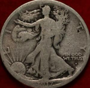 1917-S San Francisco Mint Silver Walking Liberty Half Obverse