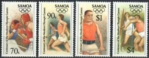 Samoa Stamp - 96 Summer Olympics Stamp - NH