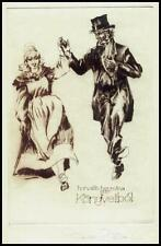 Horvath Hermina C4 Exlibris PF Dance Woman Men Music Folklore s169