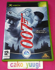 JAMES BOND 007 QUITTE OU DOUBLE XBOX EXCELLENT ETAT VERSION 100% FRANCAISE