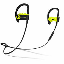 AUTHENTIC BEATS BY DR. DRE POWERBEATS3 WIRELESS EAR-HOOK HEADPHONES-SHOCK YELLOW