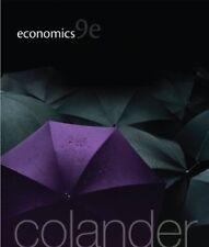 Economics, 9th Edition (The McGraw-Hill Series in Economics) by Colander, Dav…