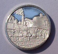 Franklin Mint STERLING SILVER Mini-Ingot 1887 RAILROAD Interstate Commerce Act