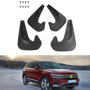 4X Universal Front Rear Splash Guards Car Mudguards Fender Styling Body Fittings