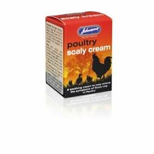 Johnsons Poultry Scaly Cream 50g - Treatment Relives Symptons Scaly Leg