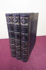 Rare 1843-45 SCOTT'S BIBLE 3 Volumes