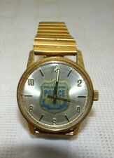Vintage Waltham Automatic Men's Wrist Watch  Phila Police Retire Watch  Working