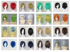 ¡ nuevo! Fashion Short con capas Loveless Anime Cosplay peluca Peluca del partido + Gratis Peluca Cap
