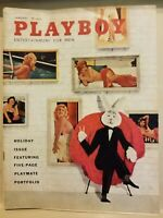Playboy  January 1958 * Very Good Condition * Free Shipping USA
