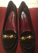 Marc by Marc Jacobs Rebel Mouse Suede leather. Gold Mice loafers- VERY RARE!!!