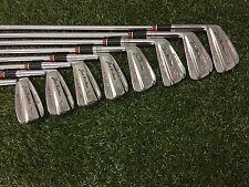 RARE MacGregor Golf JACK NICKLAUS GOLDEN BEAR REG. 081 Iron Set 2-9 Left Handed