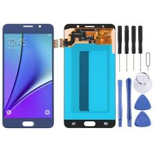 For Samsung Galaxy Note 5 AMOLED Screen Touch Digitizer Glass Part DARK BLUE