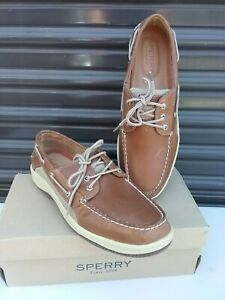 Men's Sperry Top Sider Billfish 3-Eye Leather Boat Shoes - 0799320 Size 13 W
