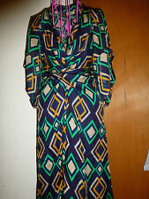ISSA LONDON DIAMOND PRINT MAXI DRESS UK8 US4 NEW WITH TAG MAXI LONG DRESS