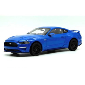 DM Creations 1/18 Kona Blue 2019 Mustang Right Hand Drive Brand New